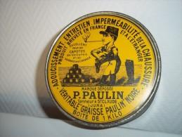 Boite Ancienne Graisse Paulin - Boîtes