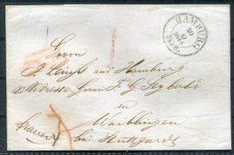 1846 Hamburg Vorphila - Waiblingen Bei Stuttgart - Germany
