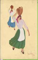 --  ILLUSTRATEUR  LINO ANTONIO -- 1931 --   COSTUMES REGIONAIS - Portugal
