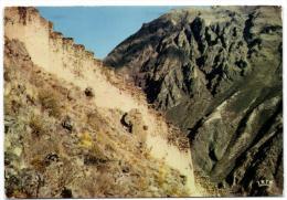 P�rou - Ollataitambo - Ramparts incas