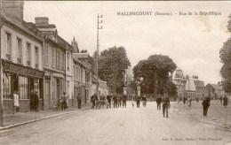 HALLENCOURT - Rue De La République  - - France