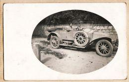 J753 Carte-Photo 1915s Guerre 1914-18 AUTOMOBILE Miltaire Belge ? N°171228 à Identifier Cpaww1 - Voitures De Tourisme