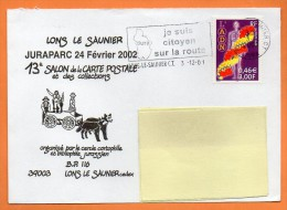 MAURY N° 3402  L'ADN        Lettre Entière N° K 604 - Marcophilie (Lettres)