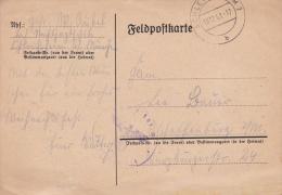 Feldpost WW2: 2/Nachtjagdschule 1 In Schleissheim P/m Schleissheim 15.12.1941  (G72-39) - Militaria