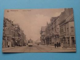 L'Avenue Léopold ( TRAM ) Anno 1913 ( Zie Foto Voor Details ) !! - Middelkerke