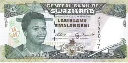Swaziland - Pick 23 - 5 Emalangeni 1995 - Unc - Swaziland