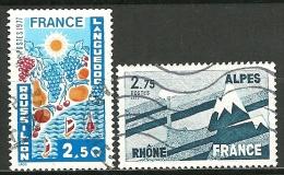 France - Année 1977 - Y & T  N° 1918 Et 1919  Ob - Used Stamps