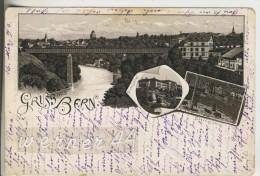 Gruss A. Bern V.1893 3 Ansichten (16211) - BE Bern