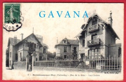 14 BERNIERES-sur-MER - Rue De La Gare - Les Chalets - Autres Communes