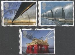 Great Britain. 1983 Europa. Engineering Achievements. Used Complete Set. SG 1215-1217 - 1952-.... (Elizabeth II)