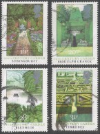 Great Britain. 1983 British Gardens. Used Complete Set. SG 1223-1226 - 1952-.... (Elizabeth II)