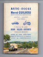 696 I) AUTO-ECOLE HERVE GUILHOU - VILLERS-COTTERETS - 192 PAGES - Auto