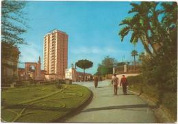 O77 Catania - Grattacielo visto dalla Villa Bellini / viaggiata 1977