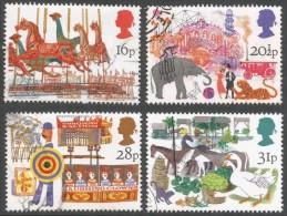 Great Britain. 1983 British Fairs. Used Complete Set. SG 1227-1230 - 1952-.... (Elizabeth II)