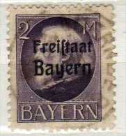 Bayern Mi 166 A, Gestempelt [291115XV] - Bavière