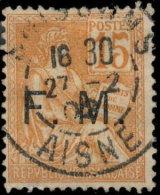 France Franchise 1900 ~ YT 1 - 15 C. Type Mouchon - Franchise Militaire (timbres)
