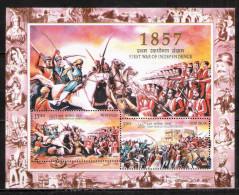 # Inde 2007 Mi N° 2214-2215 (**) Bloc - Hojas Bloque