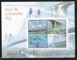 # Inde 2007 Mi N° 2219-2222 (**) Bloc - Hojas Bloque