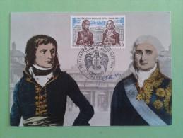 FRANCE 1973 - N°1774 - PREMIER JOUR FDC - Carte Maximum - Code Civil Napoléon Bonaparte - Signé Par Albert DECARIS - France