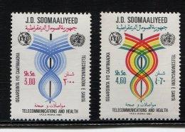 Somalia, Soomaaliyeed, 1981, Space, UIT, Telecommunications Day - Space