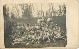 Militaria - Guerre 1914-18 - Militaires - Régiments - Carte Photo - 2 Scans - état - Guerre 1914-18