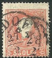 1859 - LOMBARDO VENETO - 5 SOLDI - 30a - PADOVA - VARIETA´ - SIGNED - SPL - - Lombardo-Veneto