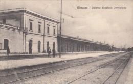 3-4477- Messina Interno Stazione Ferroviaria - F.p. Viaggiata - Messina
