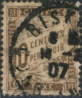 France Taxe 1893. ~ T 29 Par 2 - 10 C. Brun - Taxes