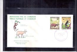 FDC Du Cameroun - Animaux En Voie De Disparition - Série Complète (à Voir) - Cameroun (1960-...)