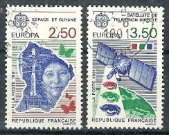 France - Année 1991 - Y & T  N° 2696 Et 2697  Ob. - Gebruikt