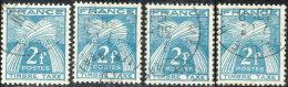 France Taxe 1946. ~ T 82 Par 10 - 2 F. Gerbes. Timbre-Taxe - Taxes