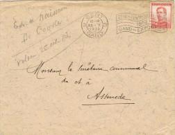 15811. Carta GENT (Belgien) 1913.  Flemme Gent Exposition - Bélgica