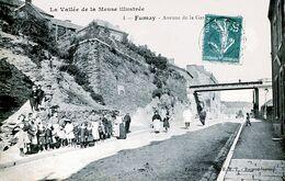 08. ARDENNES - FUMAY. Avenue De La Gare. La Passerelle. - Fumay