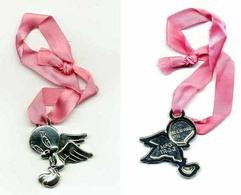 Kinder Maxi 2013 : TITI - Bracelet Ruban Rose - TR-2-2 - Maxi (Kinder-)