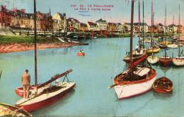 LE POULIGUEN(LOIRE ATLANTIQUE) BATEAU VOILIER - Le Pouliguen