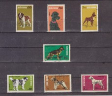 1981 - Exposition Canine Mi No 3762/3768 Et Yv No 3313/3319 - Usado