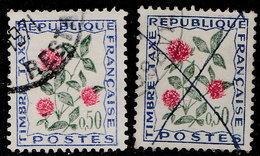 France Taxe 1964. ~ T 101 Par 2 - Fleur Des Champs : Trèfle - Taxes