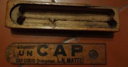 Plumier D´écolier Avec Publicité Cap Corse Quinquina Mattei - Autres
