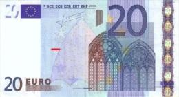 EURO NETHERLANDS TRICHET 20 P G005 UNC - EURO