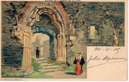 Ruines De L'abbaye De Villers  La Porte Trilobée Louis TITZ - Villers-la-Ville