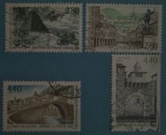 France 1995  : Série Touristique N° 2954 à 2957 Oblitéré - Frankreich