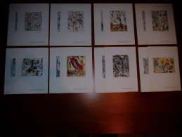 16 STAMPE CHAGALL NUMERATE GRAPHICS - Litografia