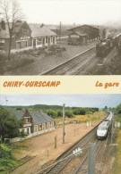 OURSCAMP (60) - La Gare De Chiry - Ourscamp (éditée En 500 Exemplaires) - Frankrijk
