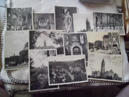 LOT DE 12 CARTES ABBAYE DE CLERVAUX....... - Collections
