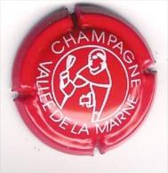 Capsule Champagne Vallée De La Marne Rouge Et Blanc - Vallée De La Marne