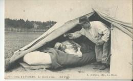 Camp D'auvours Vue Generale Animée Le Quart D(eau - Régiments