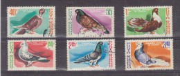 1981 - Pigeons  Michel No 3777/3782 Et Yv No 3326/3331 - 1948-.... Repúblicas