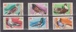 1981 - Pigeons  Michel No 3777/3782 Et Yv No 3326/3331 - Usado