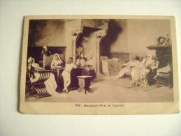 1914   DA FIRENZE  BOCCACCIO PROF. CASSIOLI  PITTORE PEINTURE   PRINTED  IN ITALY FORMATO PICCOLO - Paintings