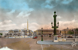 CPSM PARIS - PLACE DE LA CONCORDE - Places, Squares